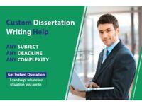 EXPERT HELP: DISSERTATION / ASSIGNMENT / PROPOSAL / ESSAY / SPSS/MATLAB/WRITING-PROOFREAD & EDITING