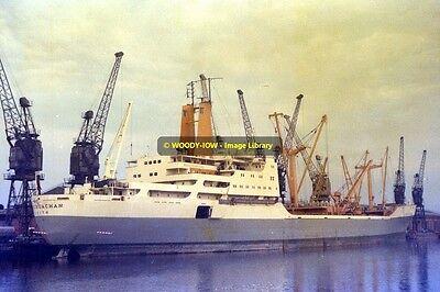mc2557 - Ben Line Cargo Ship - Bencruachan , built 1968 - photo 6x4