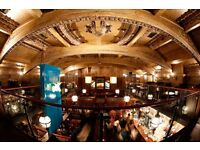 Christmas at Hillhead Bookclub - Bar and Floor Staff Openings!