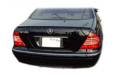 Mercedes Benz W 220 Tuning SPOILER S-Klasse AMG HECKSPOILER HECK Lippe *LACKIERT
