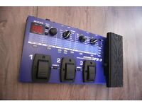 Zoom GFX-3 multi effects unit with power supply
