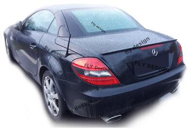 Mercedes Benz SLK R 171 Heck SCHWARZ GLANZ Abrisskannte new Autospoiler Apron