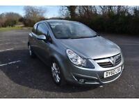 Vauxhall Corsa 1.2L SXI, low mileage, MOT, spares or repair