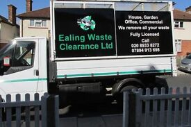Rubbish Clearance In Ealing ( Fully Licensed) Same Day Collection 7 Days a week