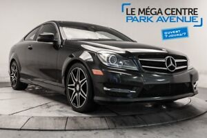2015 Mercedes Benz C-Class C 350 COUPE AWD AVANTGARDE