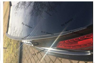 Mercedes Benz CL Coupe C 215 Autospoiler hecklippe CARBON optik Slim lip becqeut