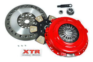 XTR STAGE 3 RACE CLUTCH KIT+CHROMOLY FLYWHEEL 96-04 FORD MUSTANG GT 4.6L TR3650