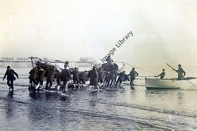 rp13762 - Brook Lifeboat at Shanklin , Isle of Wight - photo 6x4