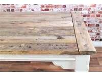 Rustic Farmhouse Kitchen Dining Table Reclaimed Farmhouse Reclaimed Hardwood - Seats 12