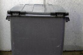 1100 Ltr Wheeled bin, as New
