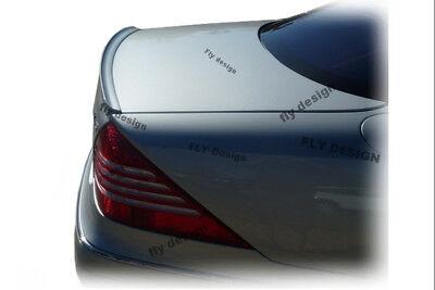 Mercedes CL Heckspoilerlippe C215 LACKIERT Spoiler Heckschürze Lippe Abrisskante