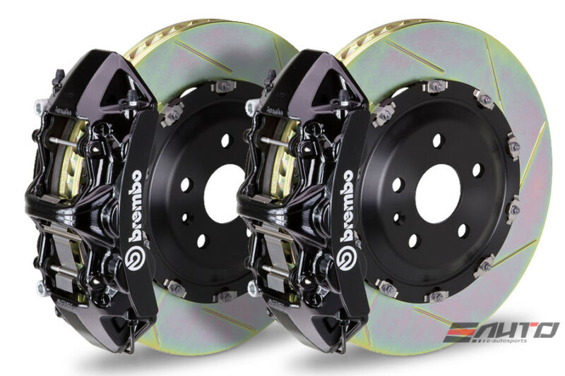 Brembo Front Gt Bbk Brake 6 Piston Black 405x34 Slot Disc Lx570 Land Crusier 16+