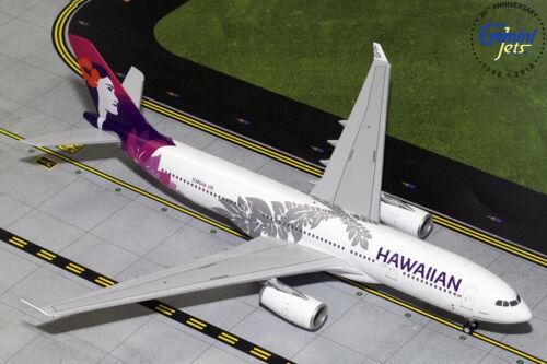 GEMINI200 (G2HAL751) HAWAIIAN AIRLINES A330-200 1:200 SCALE DIECAST METAL MODEL