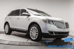 2013 Lincoln MKX AWD, NAV, CUIR, TOIT, CAM, BLTH *RESERVE*