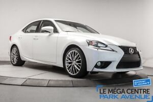 2014 Lexus IS PREMIUM - AWD CUIR TOIT CAMERA **RESERVE**