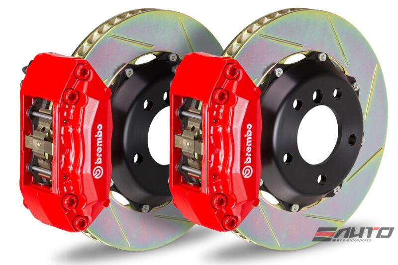 Brembo Front Gt Big Brake Bbk 4piston Red 320x28 2 Piece Slot E36 E46 Z3 Z4