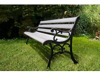 Beautifull heavy duty garden bench