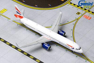 Gemini Jets 1:400 British Airways Airbus A321neo G-NEOP GJBAW1836 IN STOCK British Airways Airbus