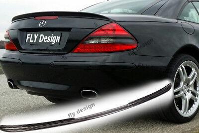 Mercedes amg sl sportpaket Carbon flaps r 230 auto sport bakspoiler heckdiffusor