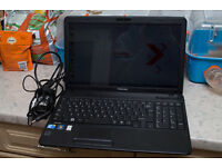 Toshiba Satellite Laptop (Model C650-152)