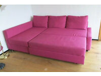 IKEA Friheten large sofa + Sofa bed. FREE. Needs clean- comes from house with cats and dog