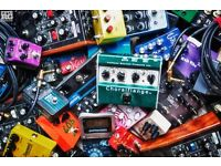 Wanted! Your broken guitar effects pedals!
