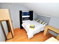 Fully furnished En-suite double room in West London, NO DEPOSIT, BILLS INCLUDED