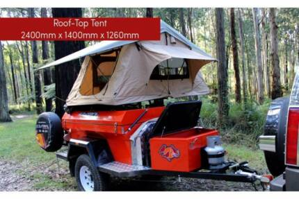Tough little Jardine Roof Top style Camper Trailer. Ready 2 GO!