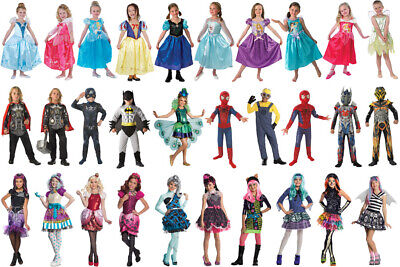 Rubies Kinder Kostüm Fasching Karneval Disney Transformer Batman Monster High