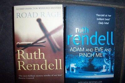 2 RUTH RENDELL BOOKS PAPERBACK--NEW