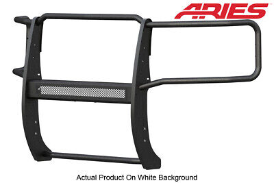 Aries Textured Blk Grille/Brush Guard 1pc for 15-19 Silverado/Sierra 2500/3500