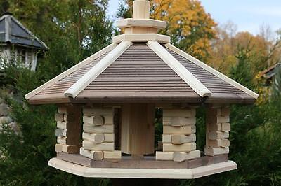 Vogelhaus aus Holz, drei Größen L-XL-XXL /KWN/, Vogelhäuschen / auch Ständer /