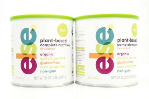 2 Else Plant-Based Complete Nutrition for Toddlers 2 x 22 oz BB 11/21