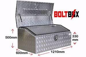 Tool Box Aluminium 1200mm Wide x 600mm Deep x 500mm High 2.5mm Banyo Brisbane North East Preview