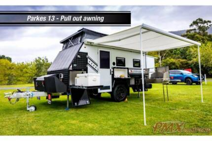 Trade in your old Camper on a new PMX Caravan.