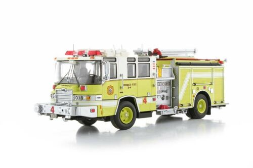 Pierce Quantum Pumper Fire Engine - Henrico #4 TWH 1:50 Scale #081C-01177 New!