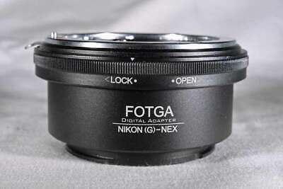 Fotga Nikon(G)-NEX NG-FX - Nikon F AF-S AI G lens to Sony (E) mount adapter