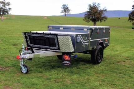 Forward Fold Hard Floor all purpose Camper Trailer - PMX Campers