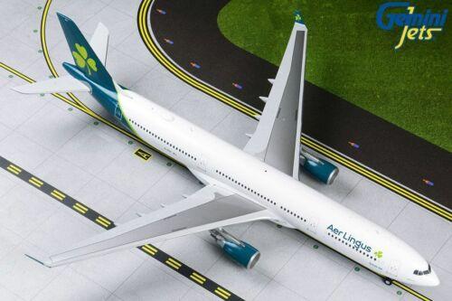 GEMINI200 (G2EIN832) AER LINGUS A330-300 1:200 SCALE DIECAST METAL MODEL