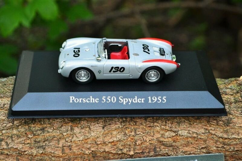 CH21T Cars Mythical Atlas IXO Chapatte Porsche 550 Spyder 55 Little Bastard