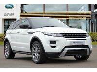 Evoque Dynamic Lux with rear entertainment and every extra. Black alloys. LR 17 month warranty inc