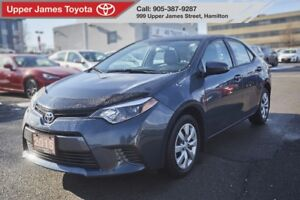 2015 Toyota Corolla LE Excellent Service History  - No Accidents