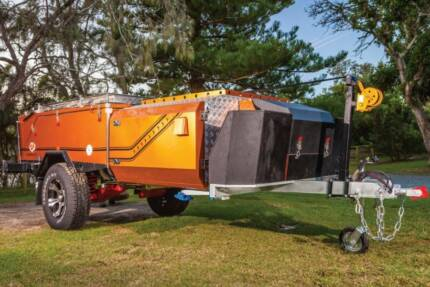 Rear Fold Luxury Albany GT MK2 Off Road camper Trailer Wangara Wanneroo Area Preview