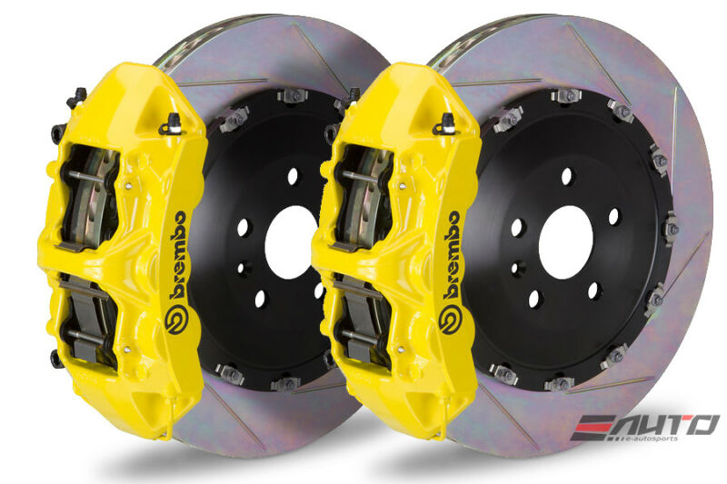 Brembo Front Gt Brake 6 Piston Yellow 405x34 Slot Ml350 Ml400 Gle350 Gle400 W166