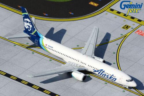 GEMINI JETS (GJASA1872) ALASKA AIRLINES 737-900 (NC) 1:400 SCALE DIECAST MODEL