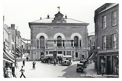 rp14135 - Guildhall Square , Carmarthen , Wales - photo 6x4