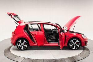 2016 Volkswagen Golf GTI AUTOBAHN TOIT, NAV, CAM*38000KM*