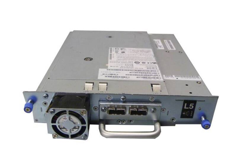 DELL 676R6 TL2000 TL4000 LTO5 HH SAS V2 Tape Drive In Tray 46X6073 Low POHs