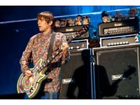 Custom Mani The Stone Roses Epiphone Jack Casady Bass With Official Hardcase