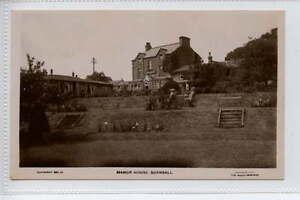 Ga290-341-Real-Photo-of-The-Manor-House-BURNSALL-c1920-Unused-VG-EX